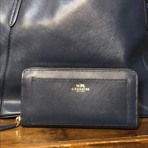 Coach Peyton Leather Wallet
